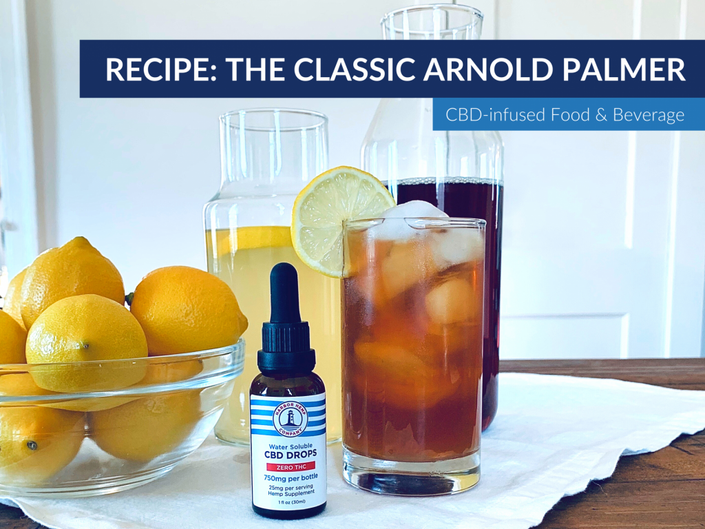 Arnold Palmer recipe infused with CBD