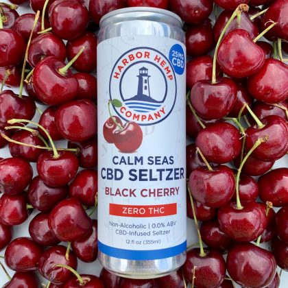 CBD Seltzer Black Cherry